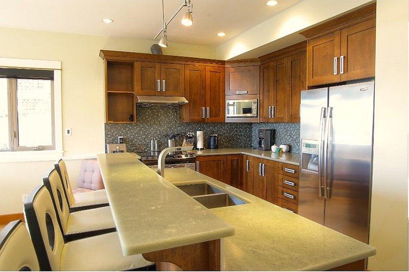 Two Bedroom Suite Kitchen, sample of a corner unit