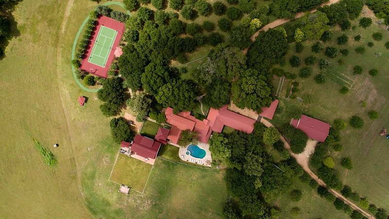 Aerial Picture of the Main Housing Compound at PermaVista