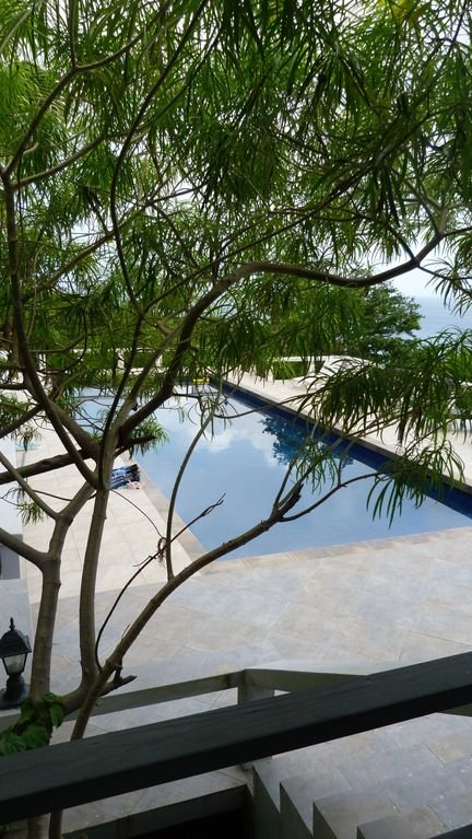 Secluded pool
