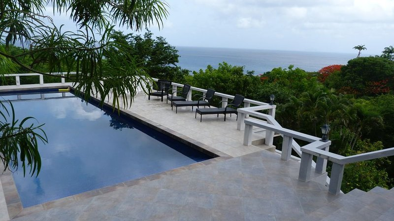 Wing Song Villa in Montserrat, holiday rental in Montserrat