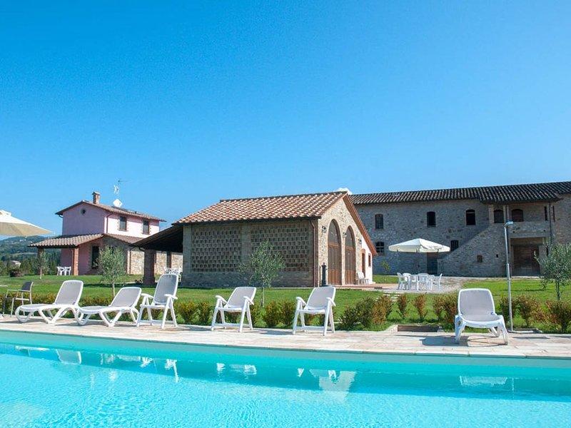 La Collina del Sole - Ground Floor Apartment for 5 Guests, holiday rental in La Bruna