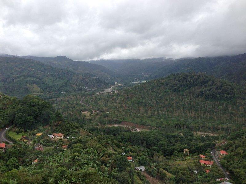 Panoramic view. Far back the Cachi leke