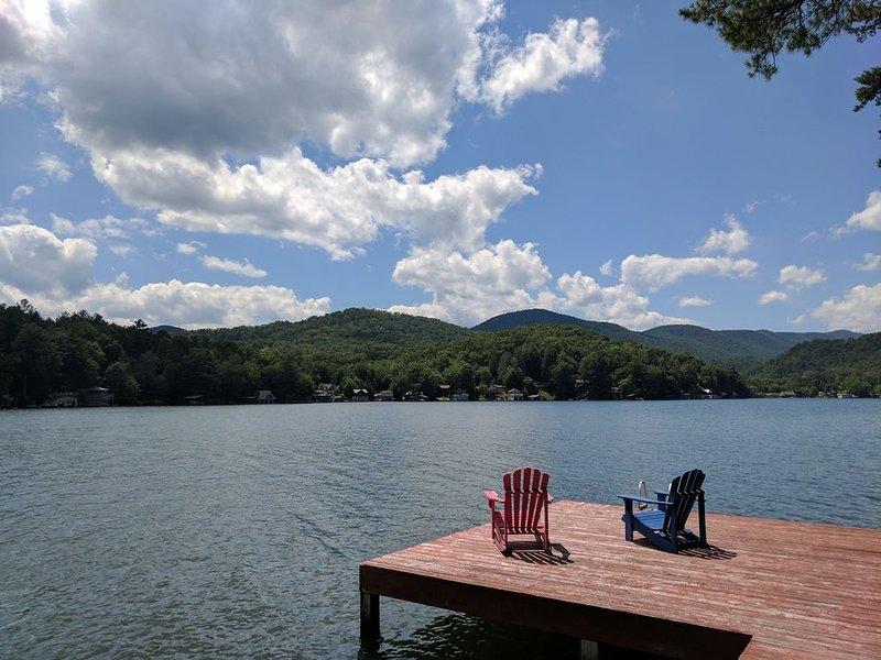3/2 on Lake Burton on Dick's Creek, holiday rental in Clayton