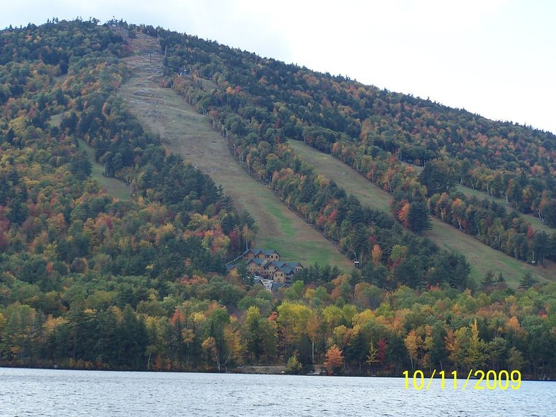 .Shawnee Peek in fall.  View from 302 (mountain is 5 minutes from house)