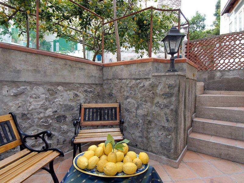 Amalfi Appartamento Limoneto nel Centro di Amalfi, holiday rental in Pogerola