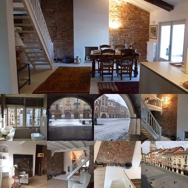 Santarosa Suites  - Overlooking a magnificent Renaissance piazza – semesterbostad i Savigliano