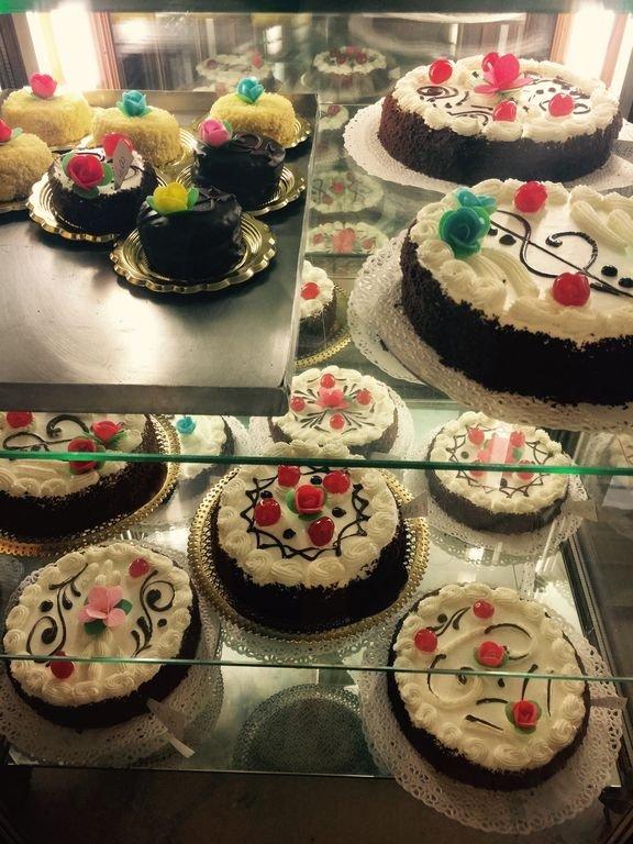 La torta Zurigo della pasticceria Scaraffia