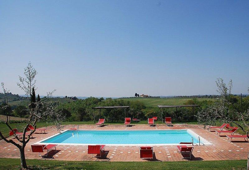 Casa Cassiodoro F, rimborso completo con voucher*: Un grazioso appartamento circ, Ferienwohnung in Castelfiorentino