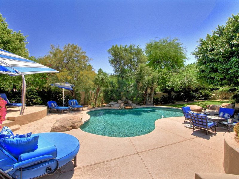 Oasis on Base of Camelback Mountain in Scottsdale/Paradise Valley AZ, vacation rental in Paradise Valley