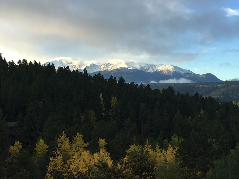 Great Views of Pikes Peak, alquiler de vacaciones en Woodland Park