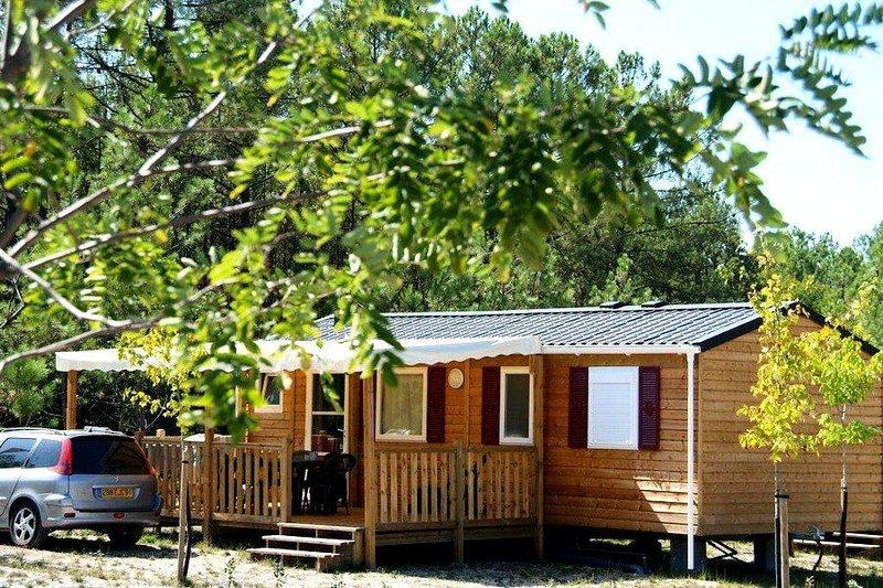 Camping Landes Océanes**** - Mobil Home 3 Pièces 4/6 Personnes, Ferienwohnung in Saint-Michel-Escalus