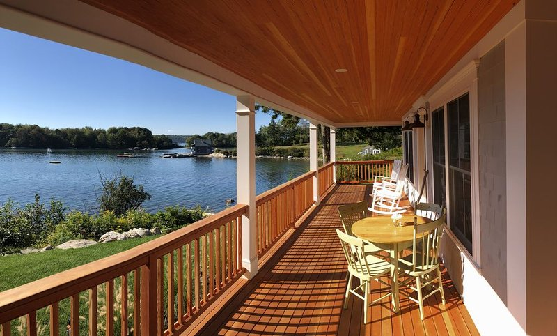 Maine Oceanfront Cottage - newly built in 2019, holiday rental in Nobleboro
