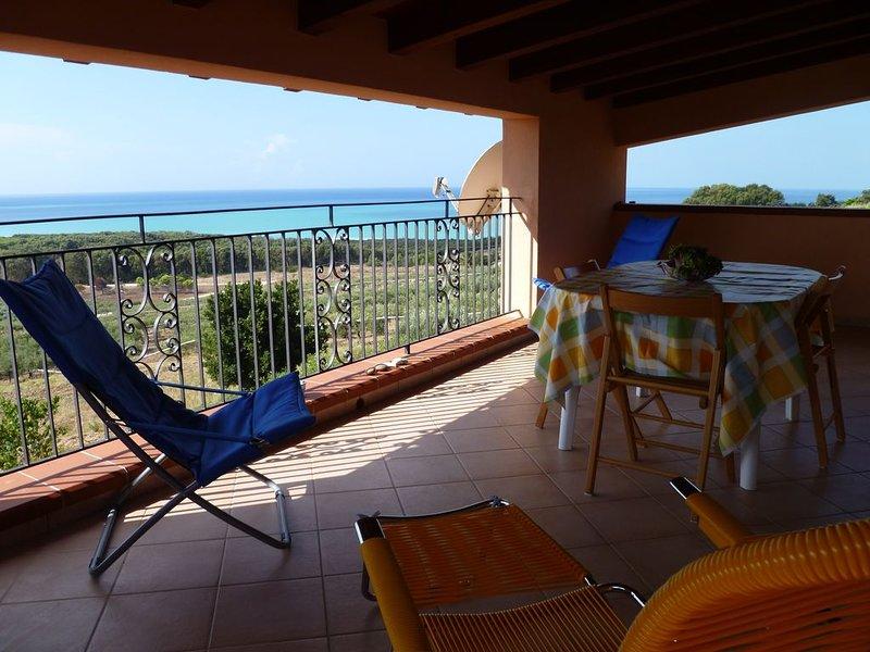 Appartamento vista mare, vacation rental in Ribera