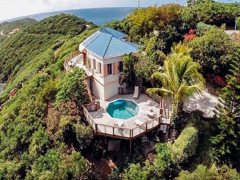Beija Flor - Spectacular Water Views. Ocean breeze., holiday rental in Cruz Bay