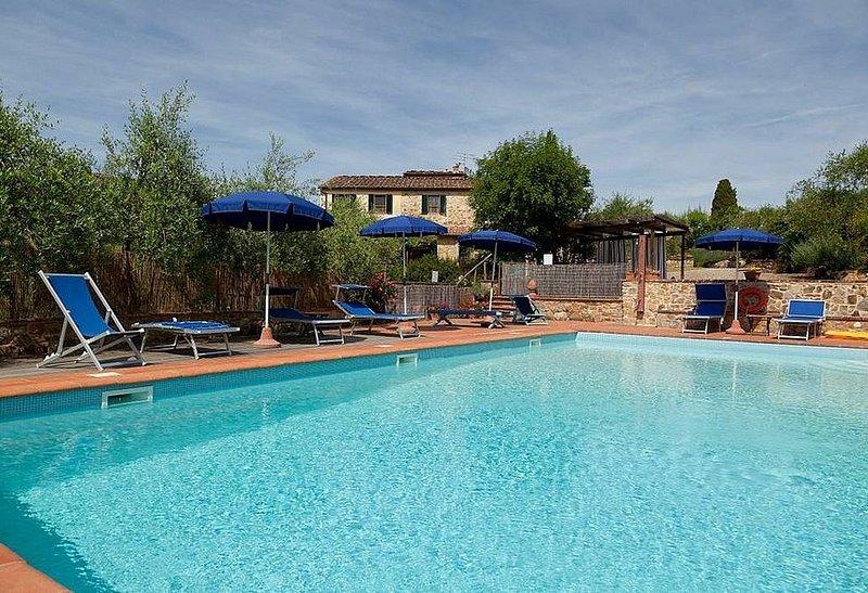 Casa Sparviero A, rimborso completo con voucher*: Un caratteristico e accoglient, vakantiewoning in Barberino Val d'Elsa