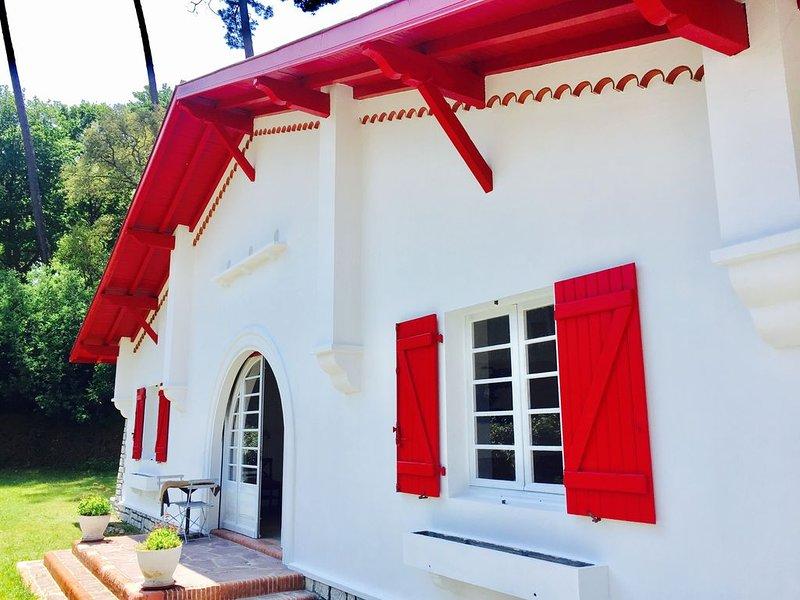 Grande villa familiale Hossegor centre à pieds, casa vacanza a Hossegor