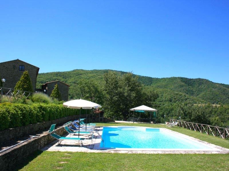 Casale situato al confine tra Toscana e Umbria, in posizione collinare e panoram, holiday rental in Teverina