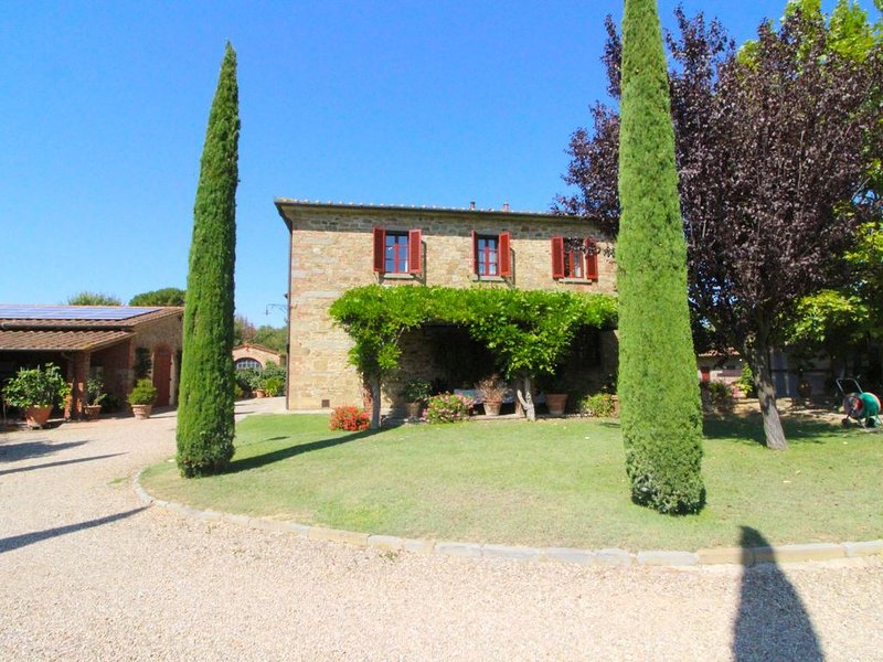 Antico casale tra oliveti e vigne a pochi km dal paese di Castiglion Fiorentino., holiday rental in Castroncello