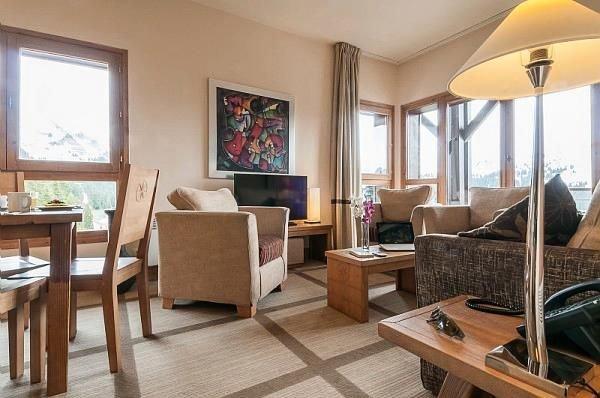 Résidence Pierre & Vacances Premium Les Terrasses d'Eos***** - Appartement Tribu, holiday rental in Flaine