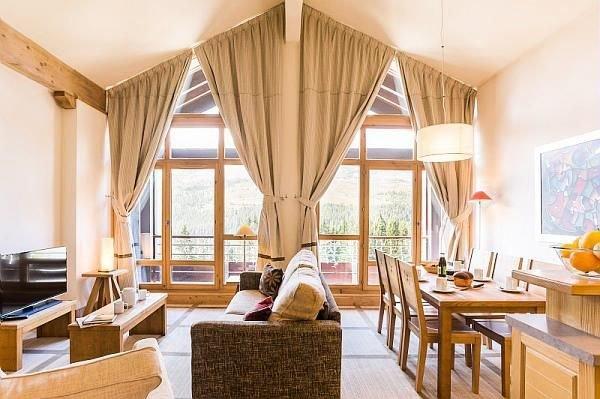 Résidence Pierre & Vacances Premium Les Terrasses d'Eos***** - Appartement 3 Piè, holiday rental in Flaine