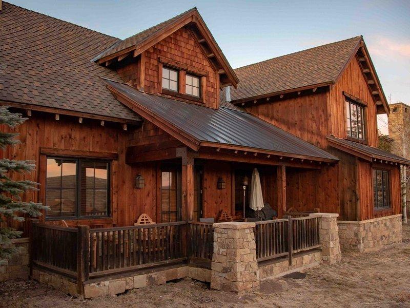 Promontory Ranch Club Resort~Trapper Cabin Rental~Golf/Ski, casa vacanza a Coalville
