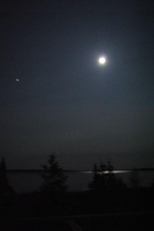 Eine andere Mondscheinansicht.