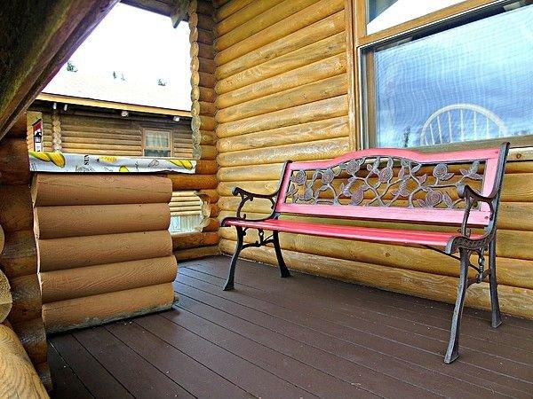 Cajun Cedar Log Cottages 1 Bdrm - Cape Breton Unit 3, holiday rental in Margaree Forks