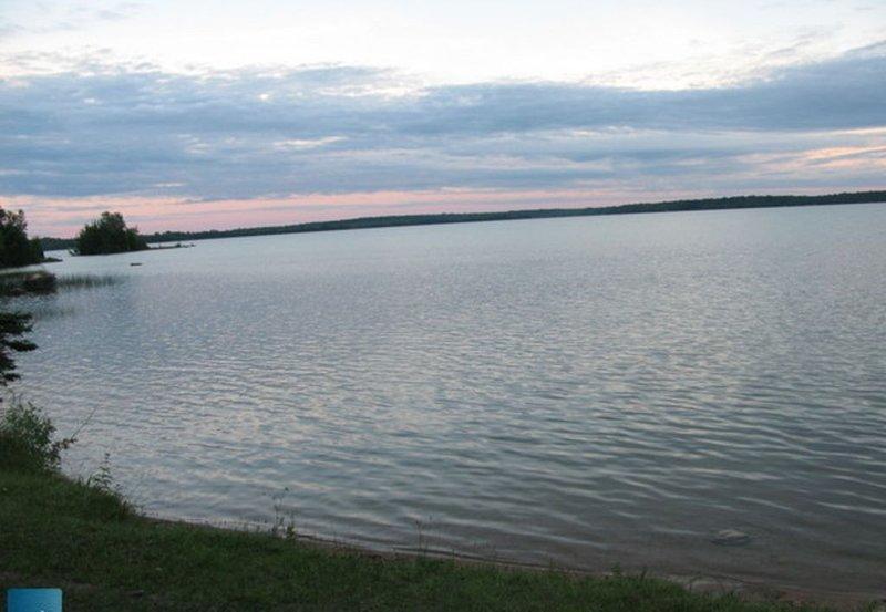 Berford Lake solnedgången