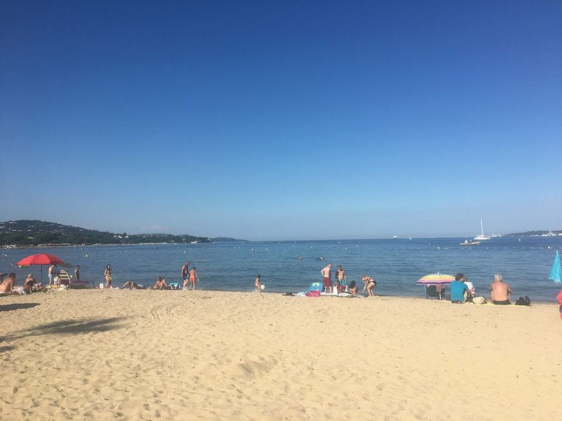 The beach at Port Grimaud