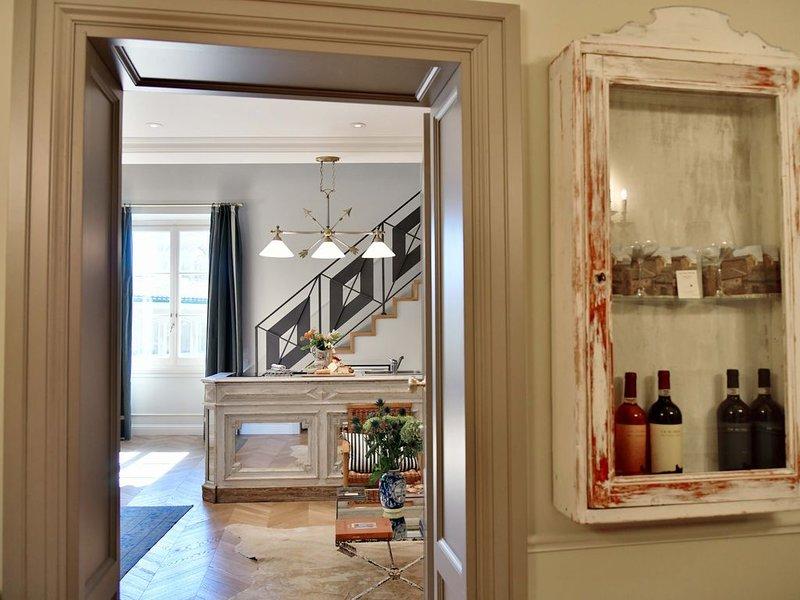 Appartamento su 2 piani di 65mq, terrazza con vista, Wi-fi, 50mt da Santa Croce, holiday rental in San Martino alla Palma