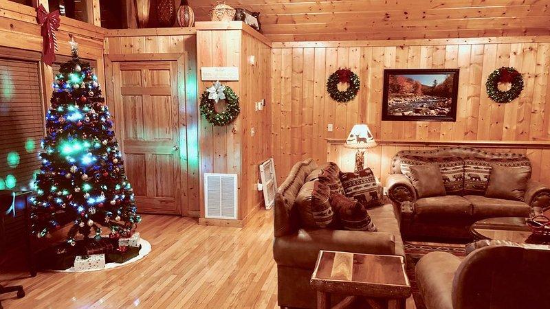 Noël dans les montagnes