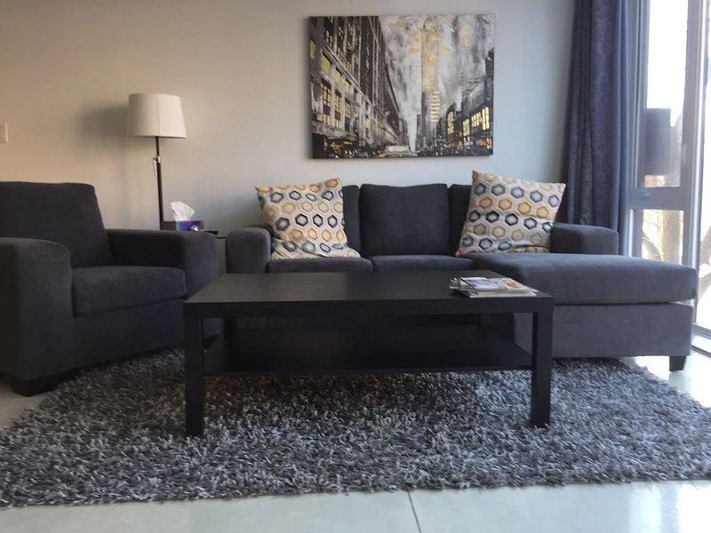 NEW !! MODERN 1500 SF 2  BR 2.5  BA -ULTRA LUXURIOUS  CONDO -OSBORNE VILLAGE !!, holiday rental in Manitoba