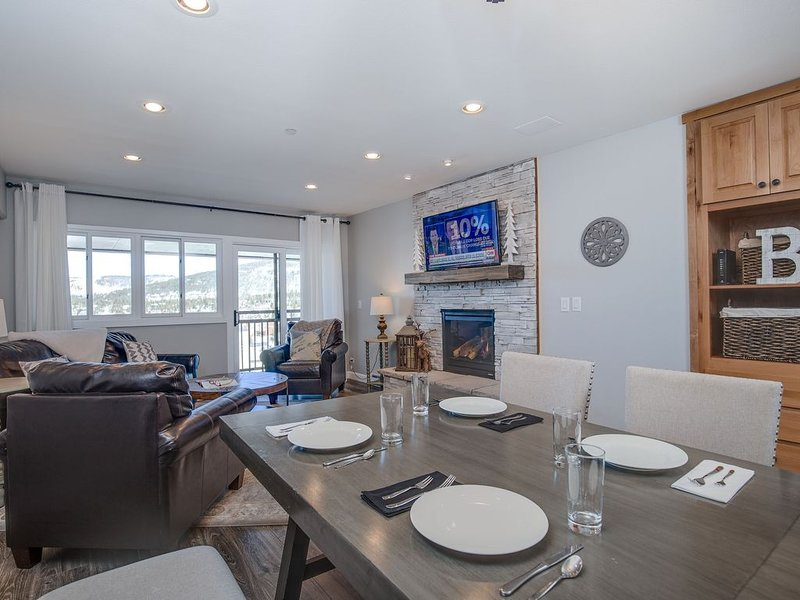 Renovated Ski In/Out Condo with Beautiful Mountain and Town Views!!!, vacation rental in Breckenridge
