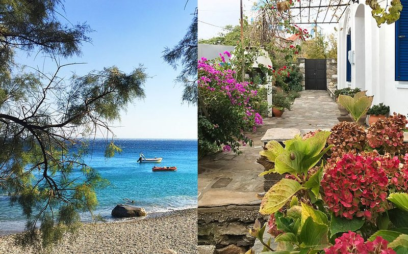 Old Ikarian stone house by the sea, beautifully restored, with all amenities, vacation rental in Ikaria