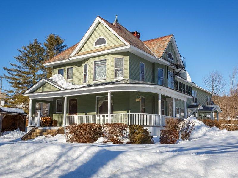 Prospect Street Victorian Mansion, holiday rental in Proctorsville