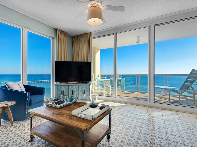 Panoramic VIEWS throughout condo! ALL NEW Furniture, Appliances, Decor & Linens!