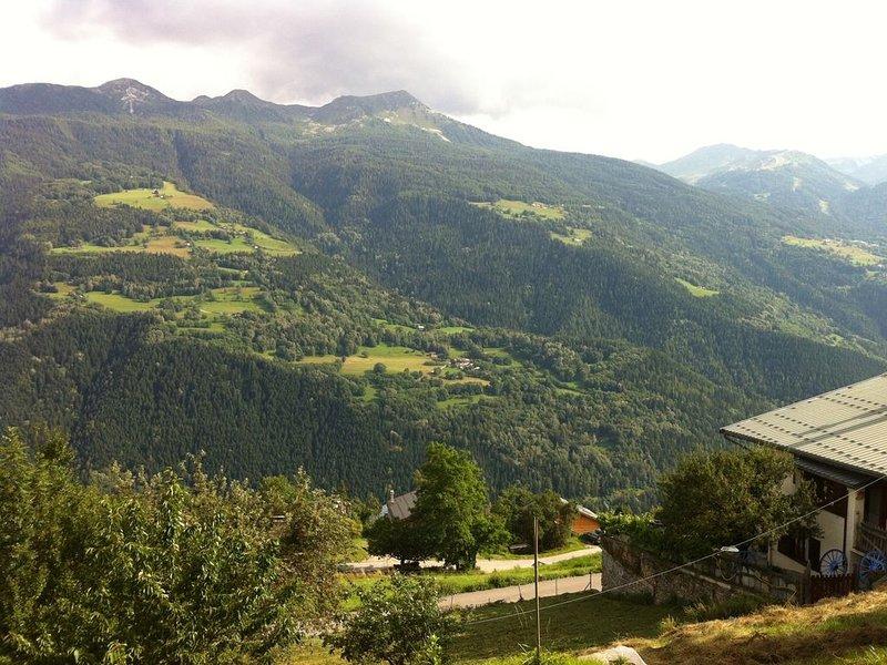 Chalet appartement, 70m2, Alpes entre La Plagne et Les Arcs, holiday rental in La Cote-d'Aime
