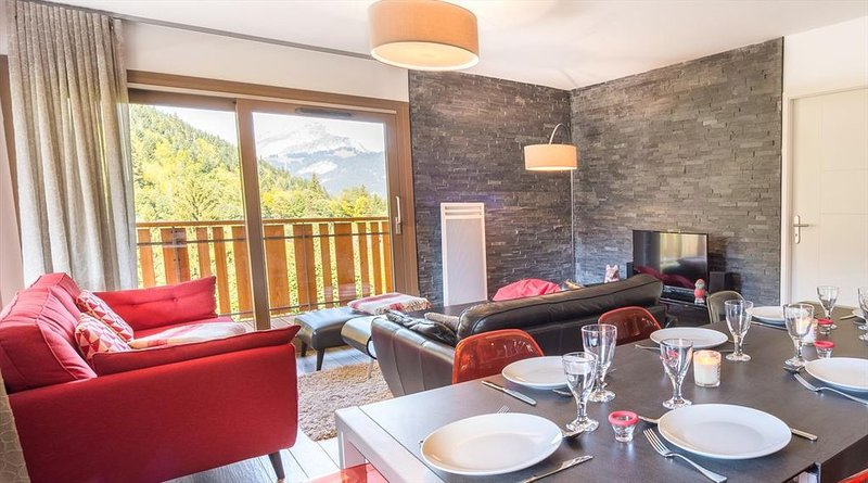 **** Apartment of 100 sqm for 8 people, in a new residence, alquiler vacacional en Chatel