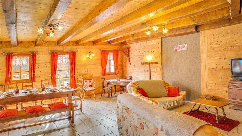 appartement lumineux La Chapelle d'Abondance location