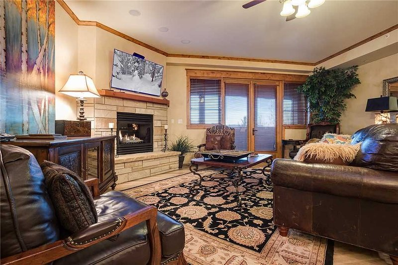 Luxurious mountain property ~ great views, indoor/outdoor pool, hot tub, fitnes, location de vacances à Steamboat Springs