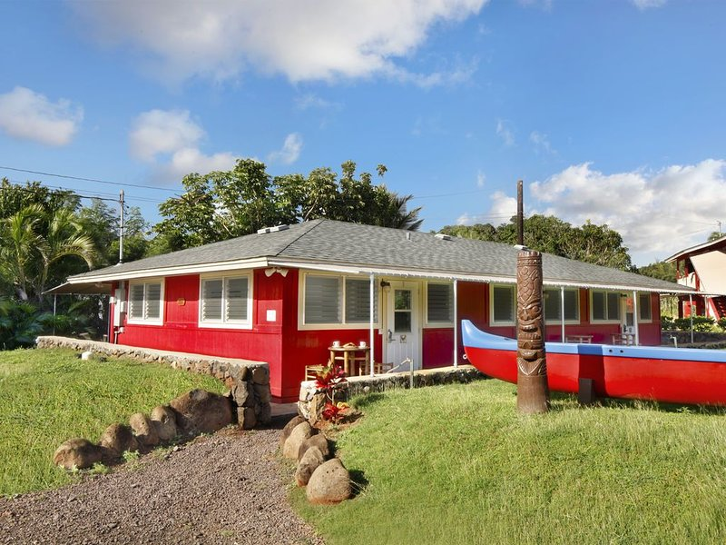 Motel Lili 3 - Turtle (honu): Studio, 1  BA Hotel in Lihue, Sleeps 2, location de vacances à Lihue