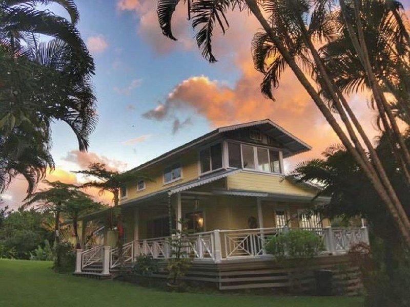 Romantic Hana Hideaway,  Big Ocean Views, Old Hawaii Charm, holiday rental in Hana