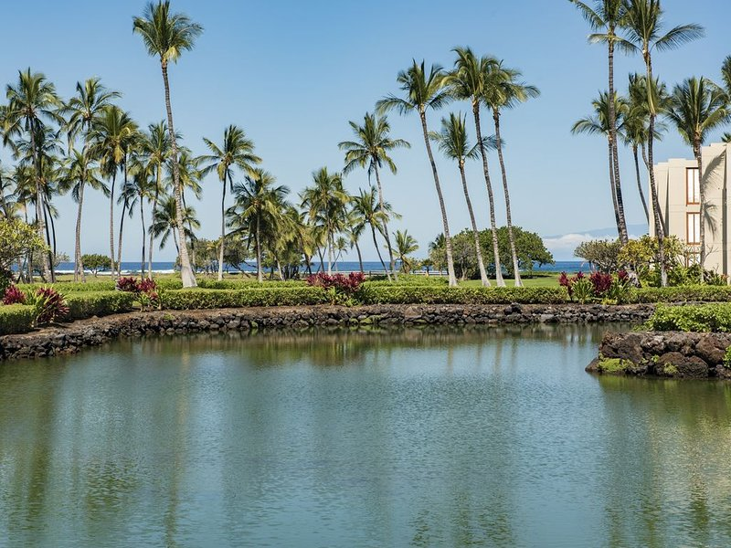 1 BR / 2 BA Oceanfront Mauna Lani Terrace Condo, location de vacances à Kamuela