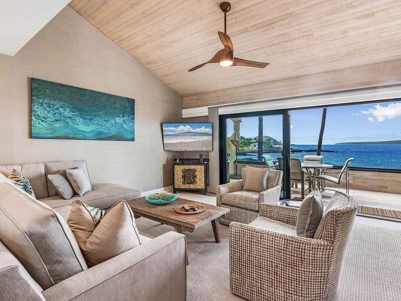 Oceanfront Penthouse 3br/3ba Condo in Makena Surf, holiday rental in Makena