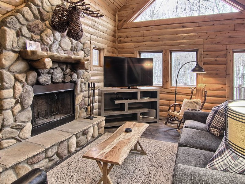 Technology Powered Simply Amazing 4 Bedroom Mountain Cabin at Boyne Mountain, vacation rental in Charlevoix County