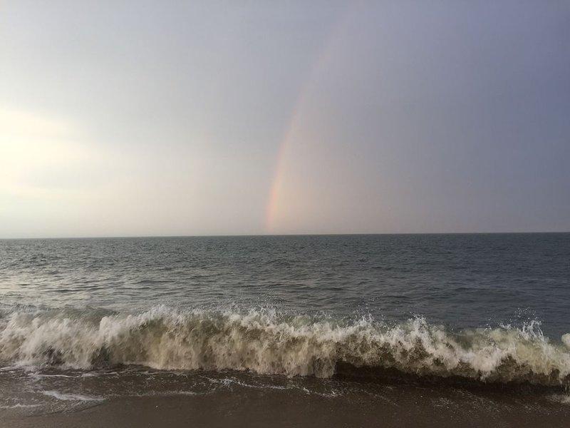 Afternoon rainbow!