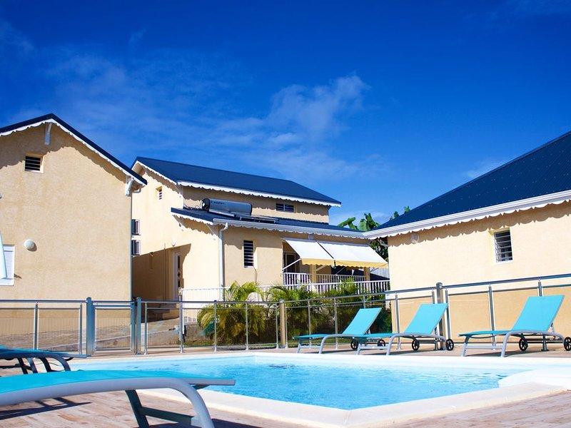 VILLAS SCI SARAH, LUX ET CONVIVIALE, vacation rental in Le Moule