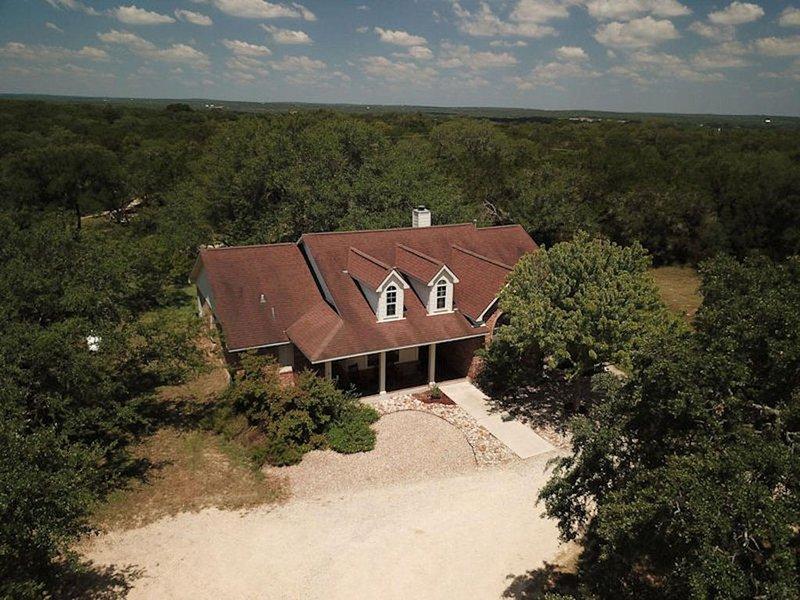 Luchtfoto van Casa Pura Vida - Texas Style!