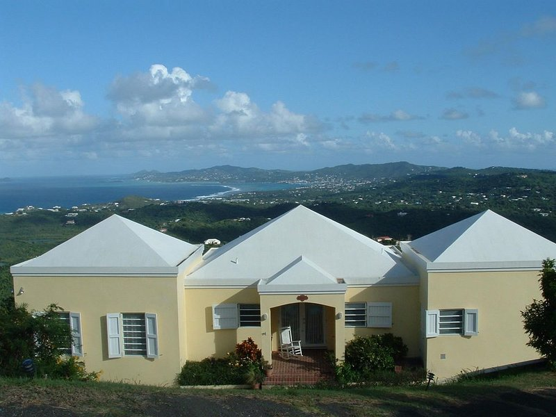 Amazing Views from This Mid-Island Villa with Pool and Hot Tub, holiday rental in St. Croix