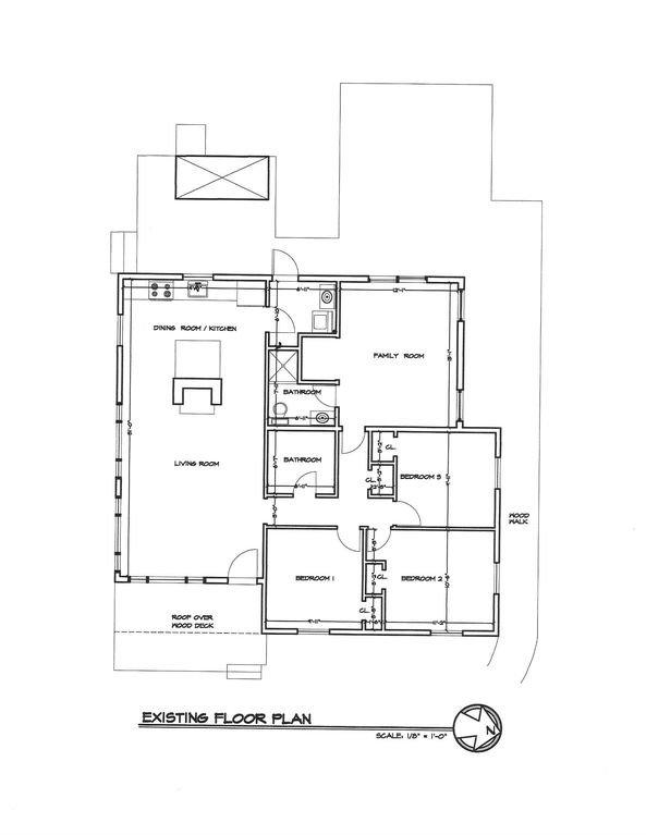 Planlösning. 1400 kvadratmeter i alla